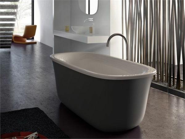 kleine-badewannen-freistehend-graue-schöne-farbe