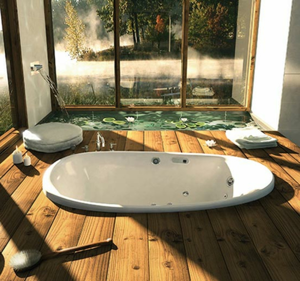 kleine-eingebaute-badewanne-luxuriöses-design