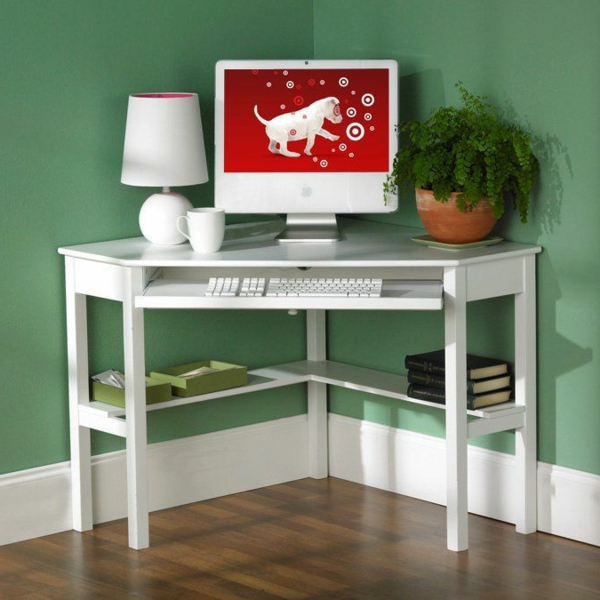 kleiner-weißer-Schreibtisch-Schreibtische-Design