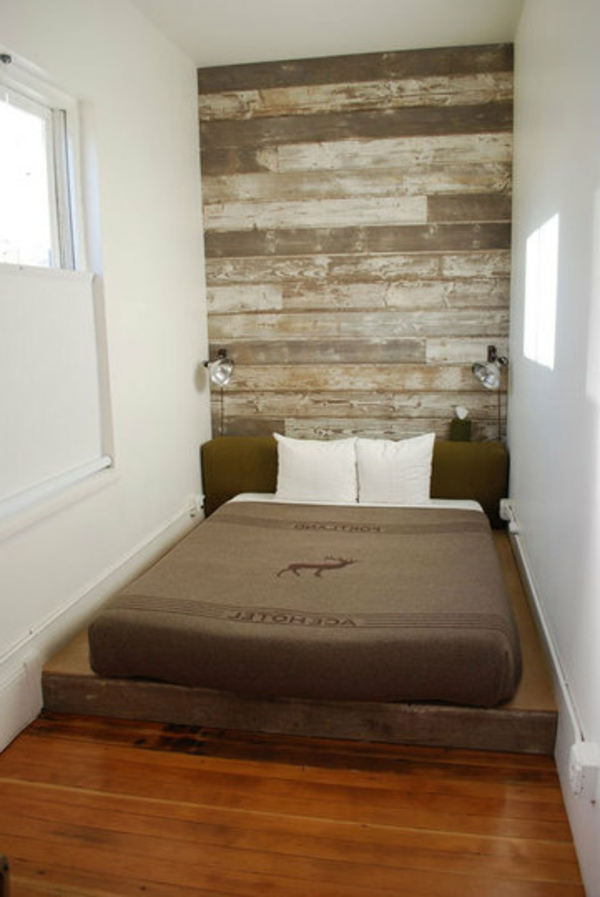 GroB Kleines Schlafzimmer Einrichten Akzentwand