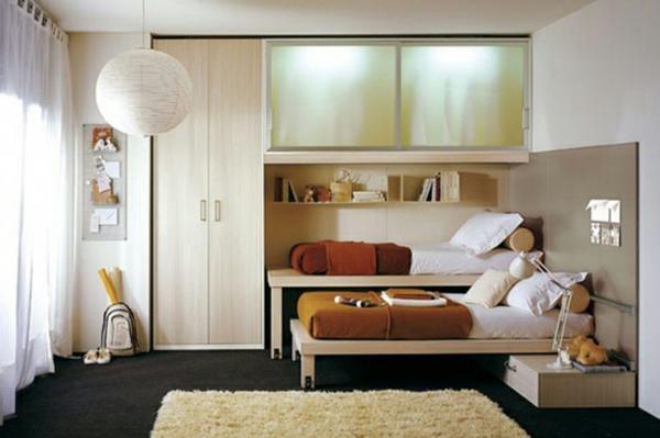 Kleines Schlafzimmer Einrichten: 80 Bilder! - Archzine.net Mini Schlafzimmer Einrichten