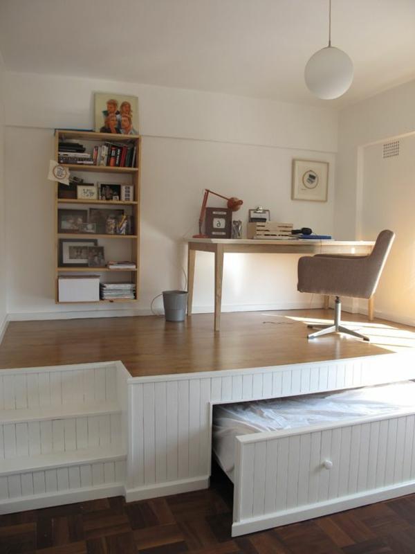 kleines schlafzimmer einrichten: 80 bilder! - archzine.net - Schlafzimmer Ideen Hell