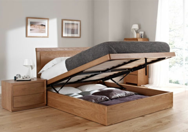 Kleines schlafzimmer einrichten praktisches bett