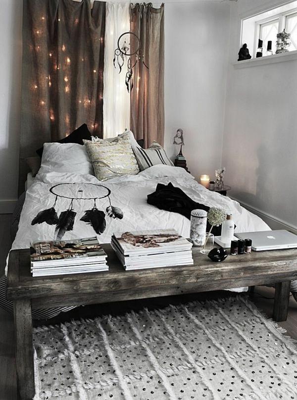 Kleines Schlafzimmer Einrichten Rustikales Design