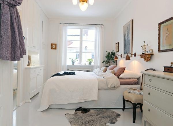 kleines-schlafzimmer-einrichten-sehr-schön-und-weiß