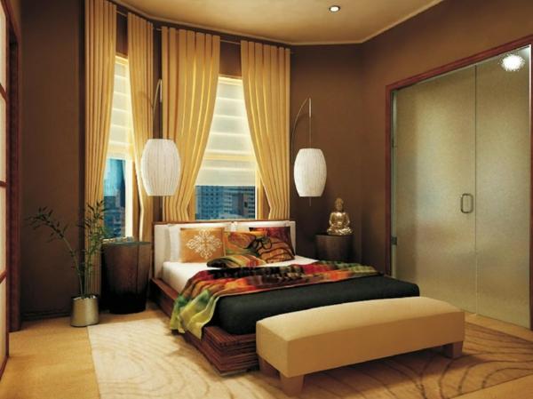 kleines-schlafzimmer-einrichten-tropicale-gestaltung