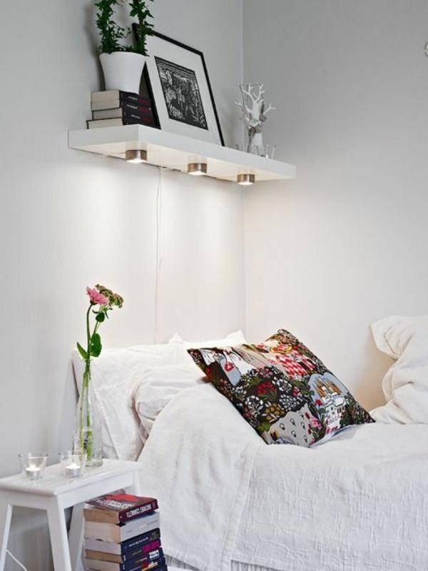 kleines-schlafzimmer-einrichten-weiße-ausstattung