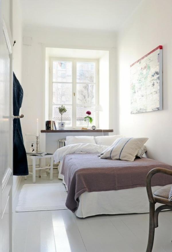 kleines-schlafzimmer-einrichten-weiße-moderne-gestaltung