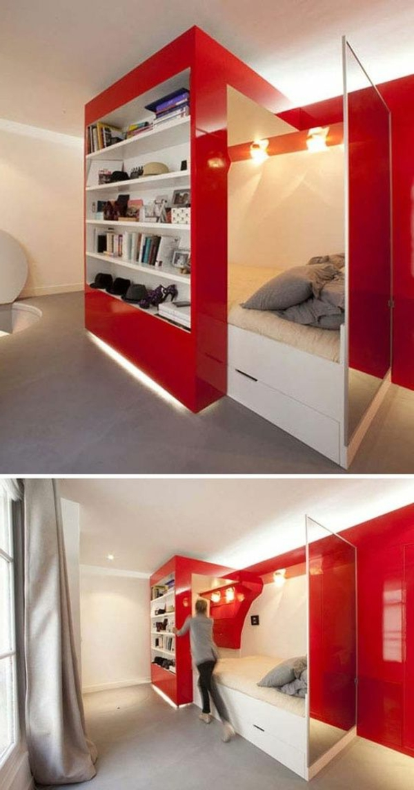kleines schlafzimmer einrichten: 80 bilder! - archzine.net - Schrankideen Fur Kleine Schlafzimmer