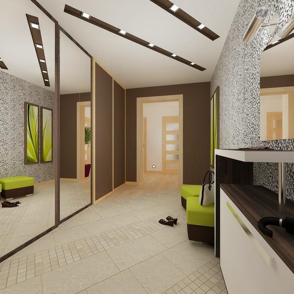 Kreative Wandgestaltung Flur Wohnidee Fantastisches Interior Design