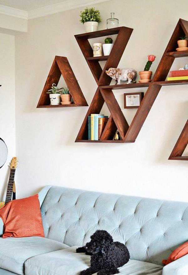 Kreative Wandgestaltung Für Ein Einzigartiges Wohnzimmer