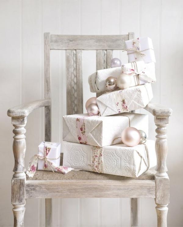 Weihnachtsdeko Stuhl.125 Prima Ideen Für Weiße Weihnachtsdeko Archzine Net