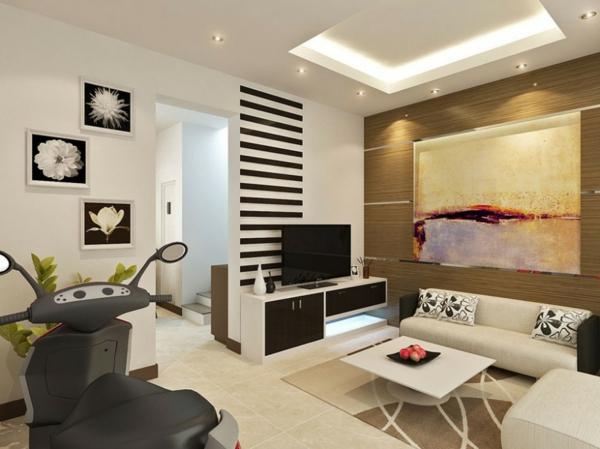 wohnzimmer einrichten - sehr modern aussehen