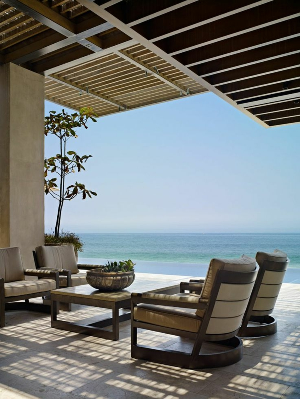 Erstaunliche Moderne Terrassengestaltung In 120 Fotos! - Archzine.net Terrassen Design Meer Bilder
