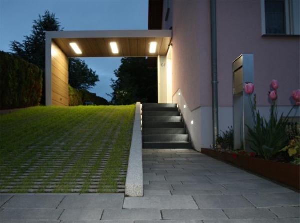 luxuriöses-Design-moderne-Architektur-Überdachung