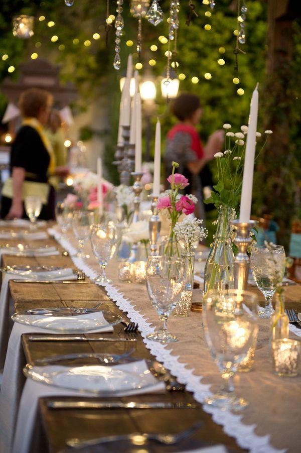 Vintage tischdeko zur hochzeit 100 faszinierende ideen for Hochzeitsdeko ideen