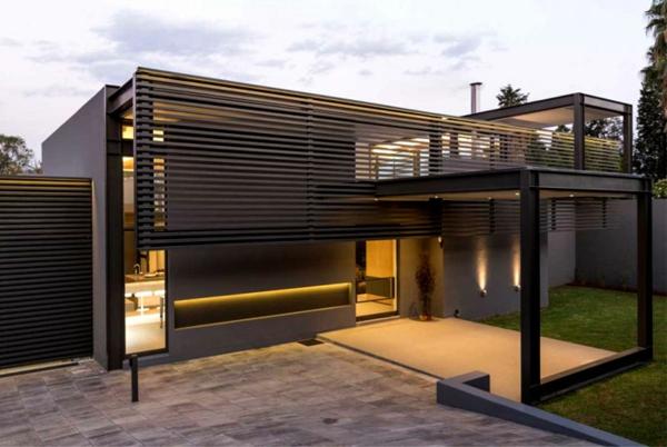 minimalistisches-Design-moderne-Architektur-Luxus-Design-Eingang