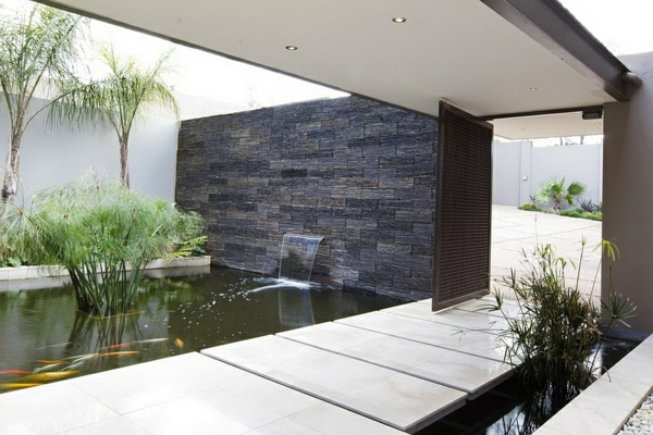 moderne-Architektur-Luxus-Design-Eingang--