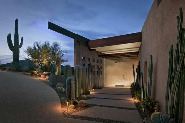 -moderne-Architektur-Luxus-Design-Eingang--