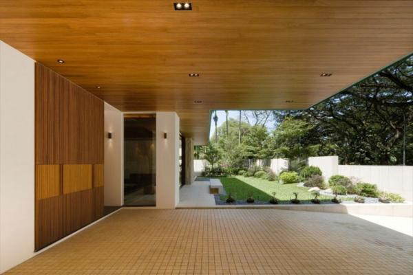 moderne-Architektur-Luxus-Design-Eingang