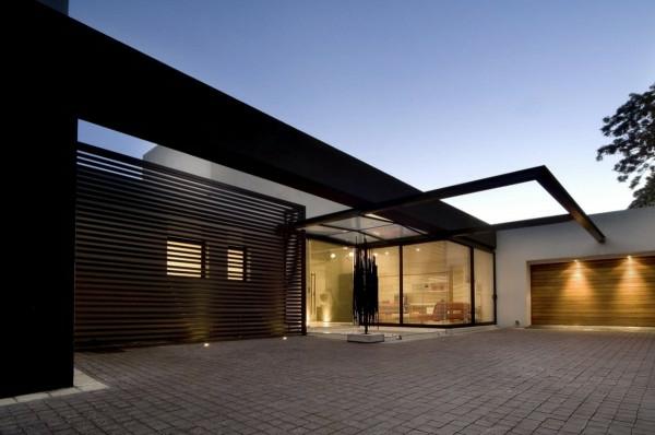moderne--Architektur-Luxus-Design-Eingang
