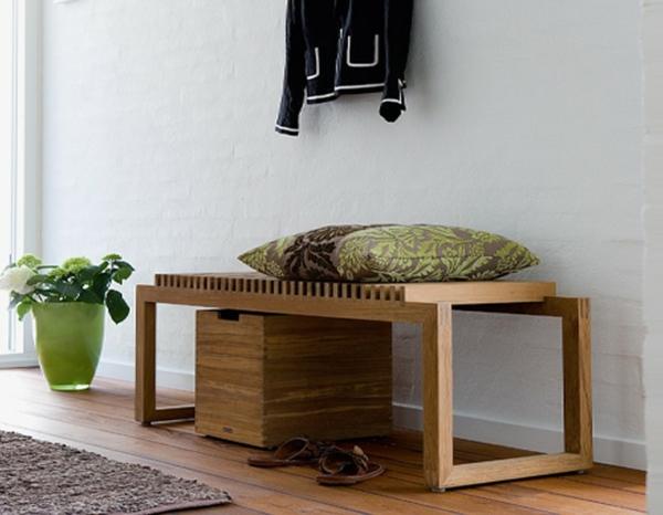 moderne-Sitzbank-für-den-Flur