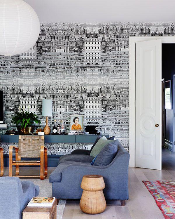 moderne-Wandgestaltung-für--das-Wohnzimmer
