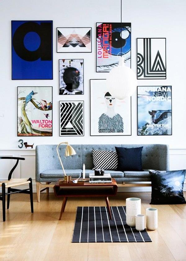 moderne-Wandgestaltung-für-ein-schönes-Wohnzimmer-mit-vielen-Bildern