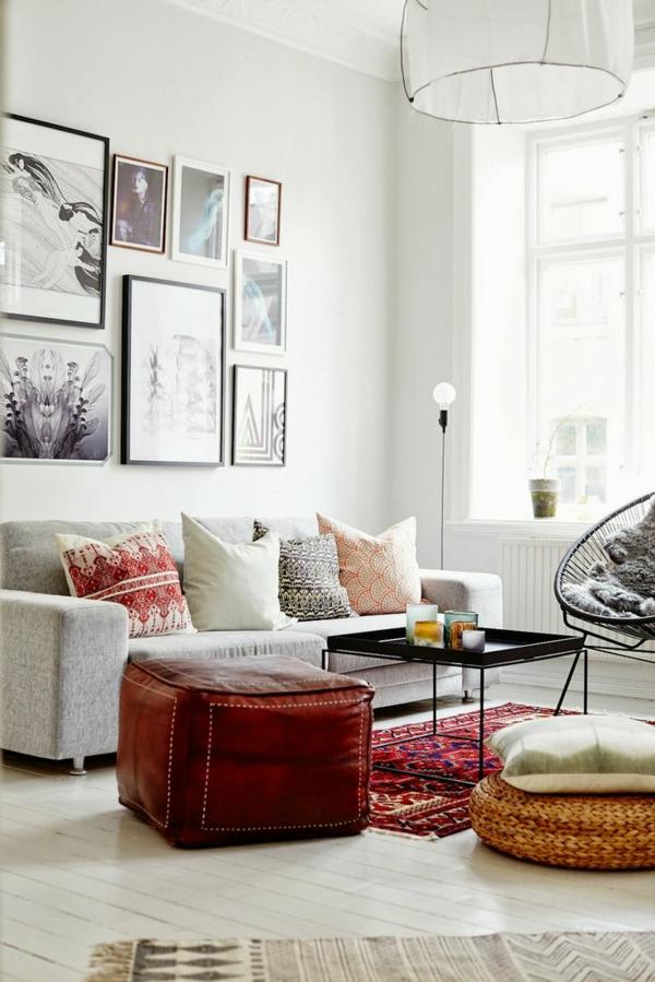 einrichtungsideen wohnzimmer heller boden:moderne-Wohnideen-für-das ...