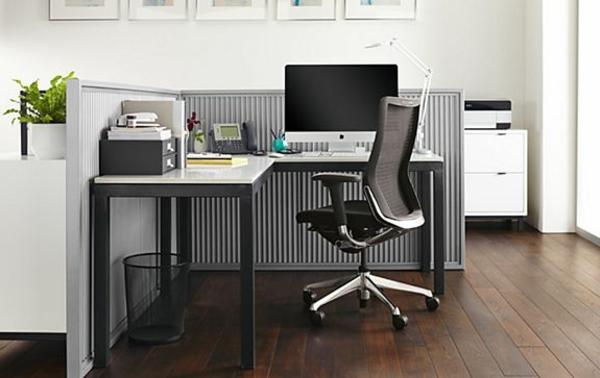 moderne-effektvolle-Schreibtische-für-die-Ecke