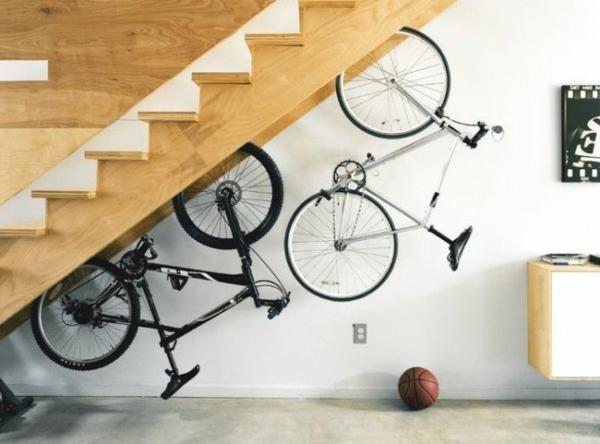 moderne- und-kreative-Aufbewahrungeideen-für-Fahrräder-zu-Hause