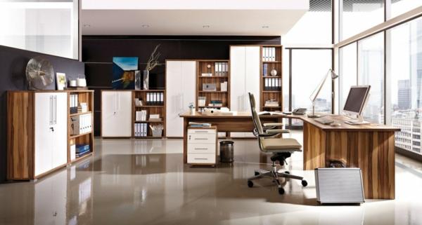 moderner-Schreibtisch-Massivholz-Büro-Schreibtisch