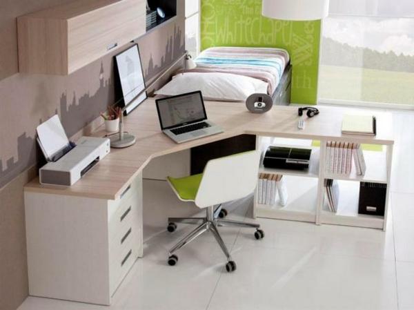 moderner-Schreibtisch-für-die-Ecke-aus-Holz-