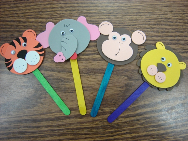 Elphant Crafts For Preschooler