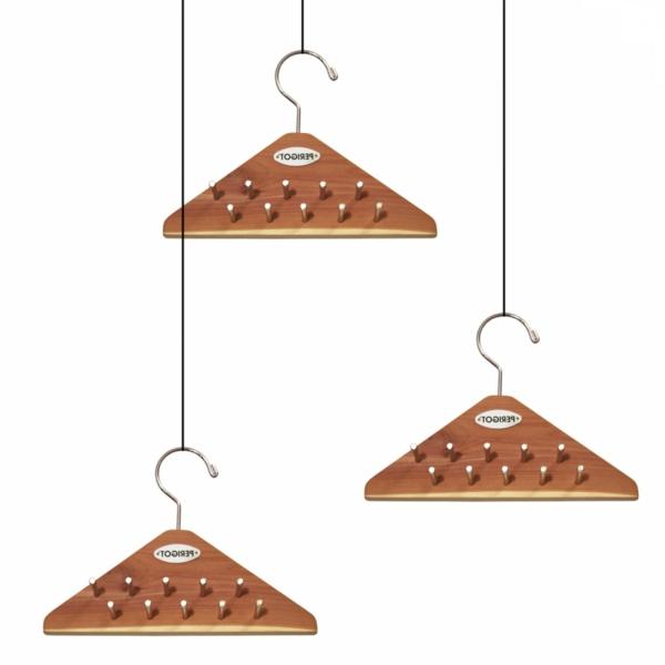 multifunktioneller-praktischer--Holzkleiderbügel-Dreieck-Holzkleiderbügel
