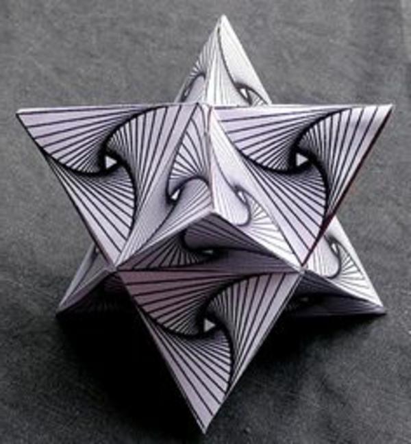 origami-zu-weihnachten-auffälliger-stern