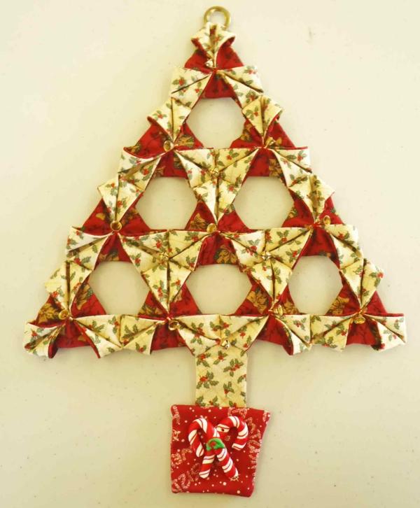 origami-zu-weihnachten-in-der-form-vom-tannenbaum - super schön erscheinen