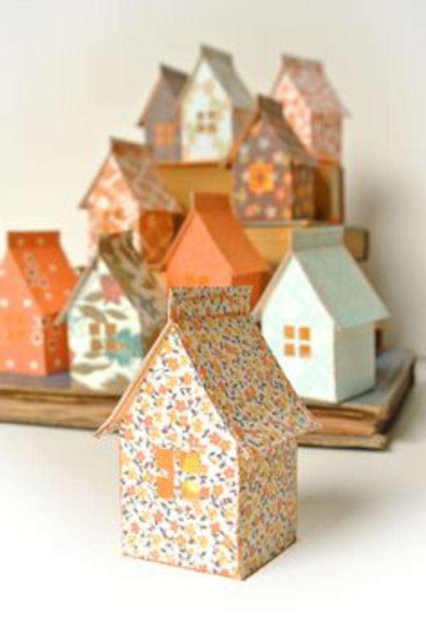 origami-zu-weihnachten-süße-häuser