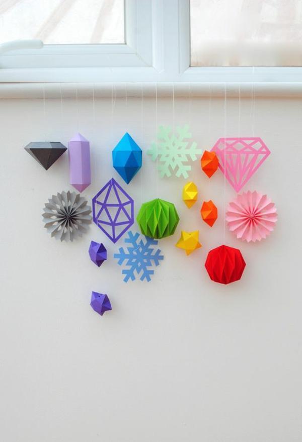 origami-zu-weihnachten-super-schöne-bunte-farben - verschiedene farben