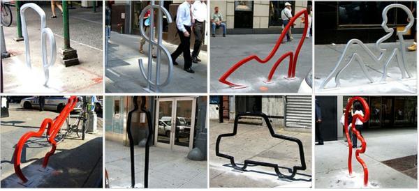 originelle-Designs-für-Fahrrad-Ständer