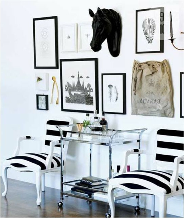 modernen flur gestalten 80 inspirierende ideen. Black Bedroom Furniture Sets. Home Design Ideas