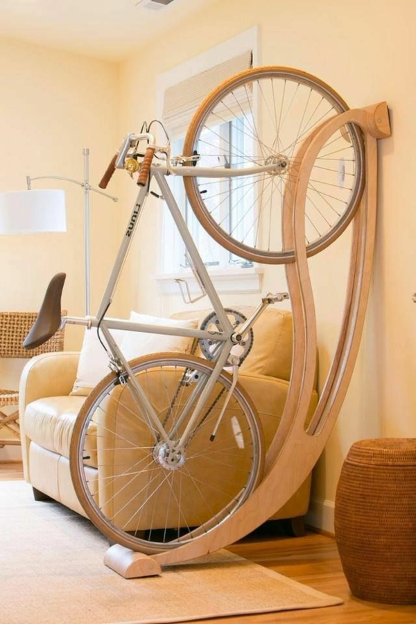 originelle-und-moderne- Aufbewahrungeideen-für-Fahrräder-zu-Hause