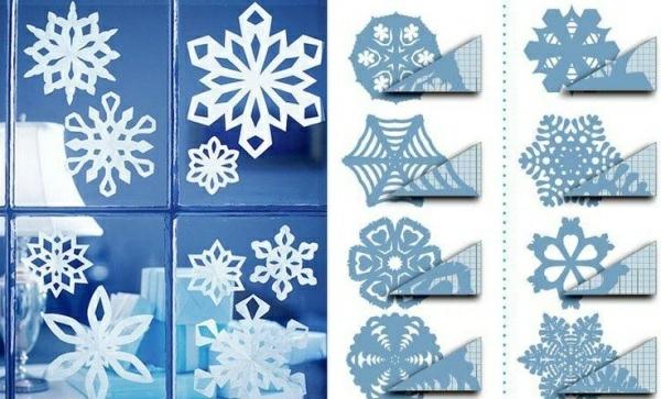 Fensterdeko weihnachten basteln papier for Fensterdeko weihnachten basteln papier