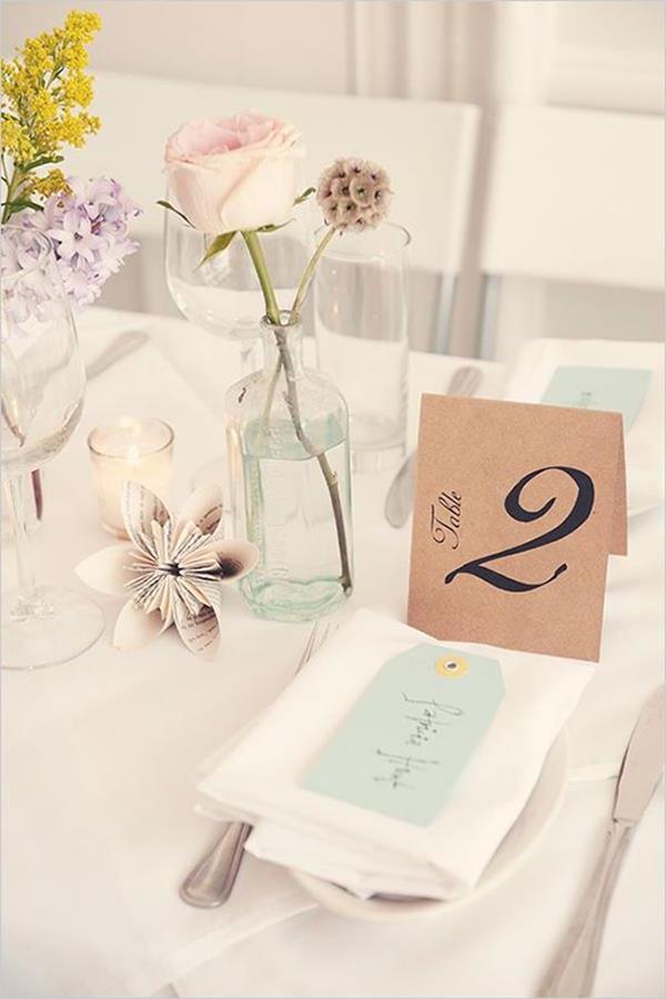 rosa-Rose-im-Glas-Hochzeitsideen-für-eine-unvergessliche-Hochzeit-Tischdeko