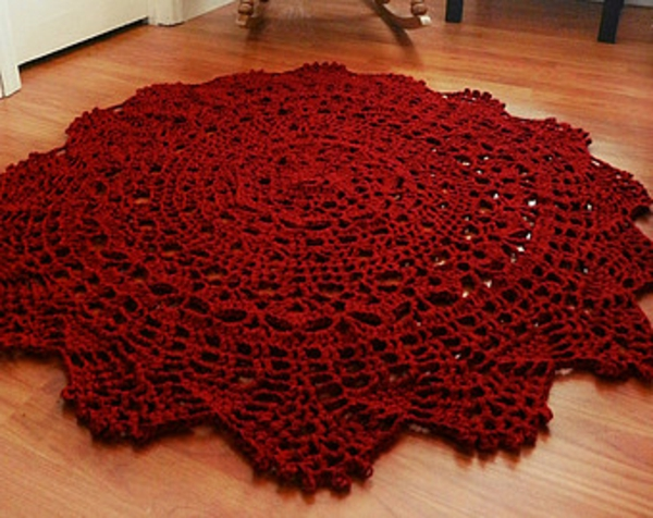 Wohnzimmer Vorschlage Einrichtung : Hier ist ein anderer roter runder ...