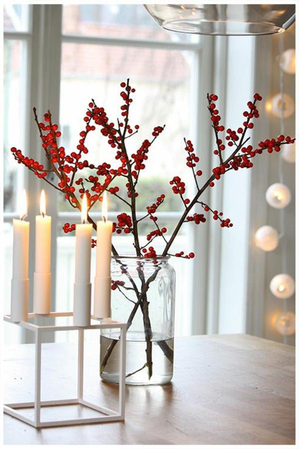 schöne-Idee-Weihnachtsdeko-günstig-Weihnachtsdeko-selber-machen-Deko-für-Tisch