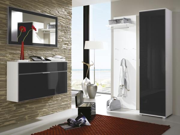schöne-Ideen--für-das-Interior-mit-Holzmöbeln-für-den-Flur-