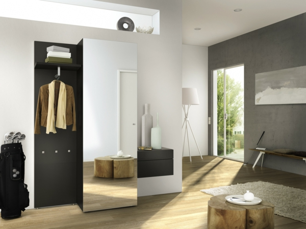 -schöne-Ideen-für-das-Interior-mit-Holzmöbeln-für-den-Flur-