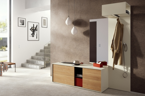 Moderne Büromöbel Für Zuhause ~ schöneIdeenfürdasInteriormitHolzmöbelnfürdenFlur