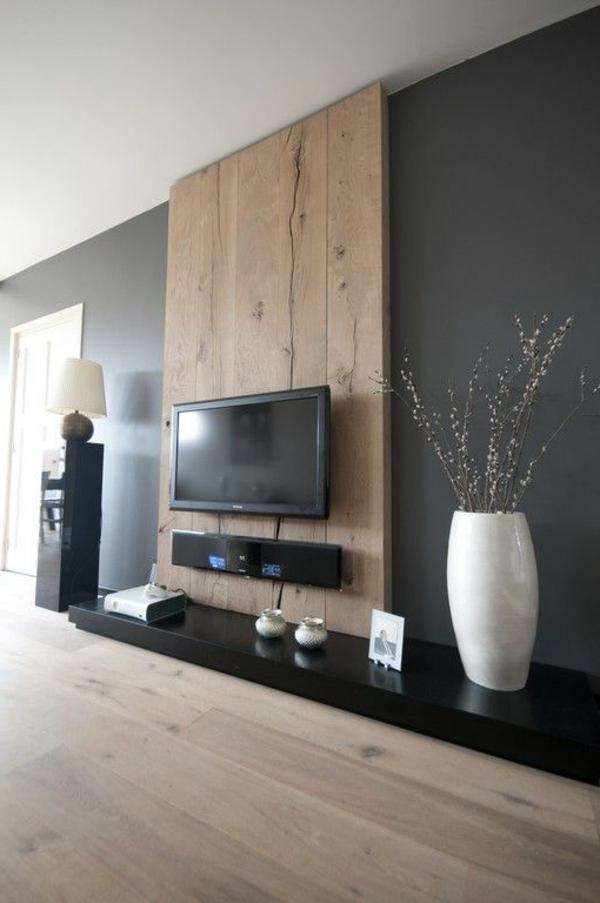 Farbliche Gestaltung Wohnzimmer ~ Raumdesigns mit holzboden archzine